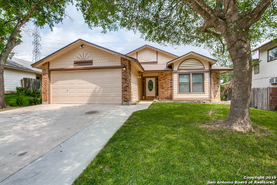 San Antonio Single Family Home New: 5443 Chestnut View Dr