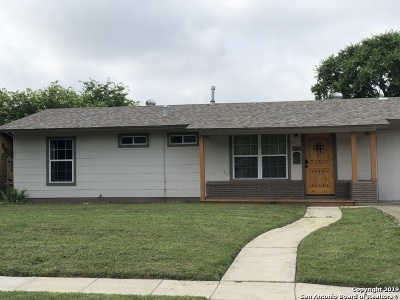 San Antonio Single Family Home New: 250 Continental