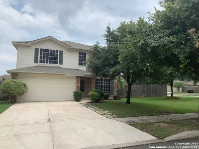 San Antonio Single Family Home New: 9606 Mustang Mesa