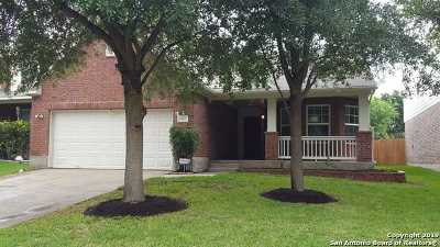 San Antonio Single Family Home New: 9807 Roan Lodge