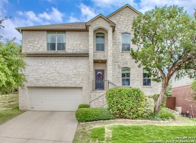 Helotes Single Family Home Price Change: 8510 Raton Way