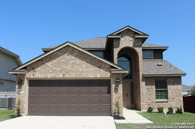 Converse Single Family Home New: 3922 Maiden Way