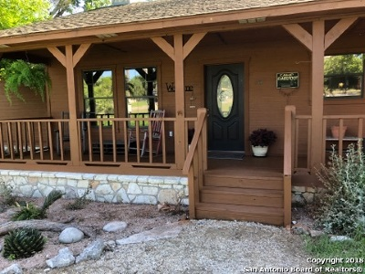 Boerne Single Family Home Active Option: 135 Woodland Blvd