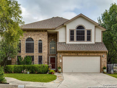 San Antonio Single Family Home New: 2223 Oakline Dr