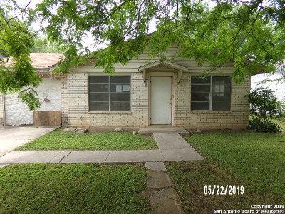 Uvalde Single Family Home For Sale: 408 Perez St
