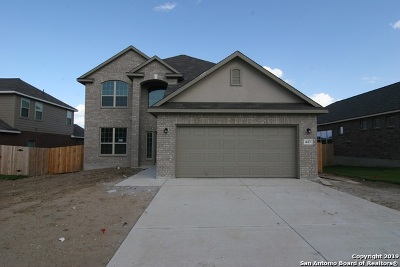 Cibolo Single Family Home New: 617 Saddle Forest