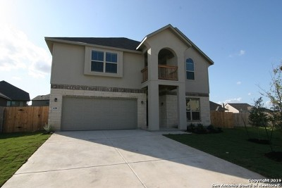 Cibolo Single Family Home New: 638 Saddle House