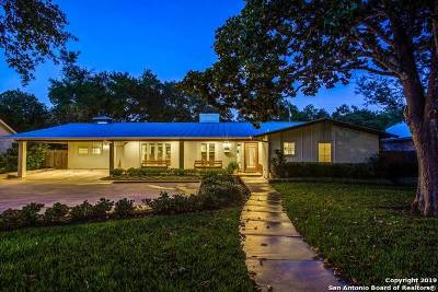 San Antonio Single Family Home New: 1827 La Sombra Dr