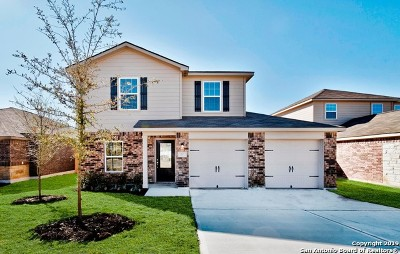 San Antonio Single Family Home New: 8022 Bluewater Cove