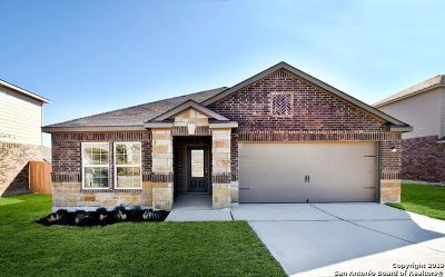 San Antonio Single Family Home New: 7823 Bluewater Cove