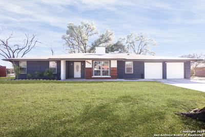 Windcrest Single Family Home For Sale: 5504 Crosswind Dr