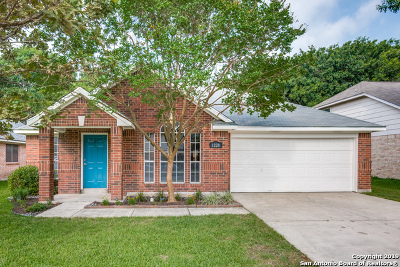 Schertz Single Family Home New: 1228 Dove Meadows
