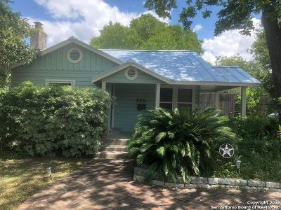 San Antonio Single Family Home Back on Market: 349 Parland Pl