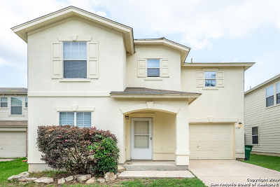 San Antonio Single Family Home New: 135 Agency Oaks