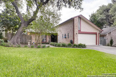 San Antonio Single Family Home New: 8738 Wickersham St