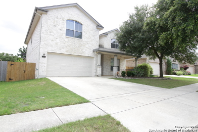 Helotes Single Family Home Active Option: 8806 Firebaugh Dr