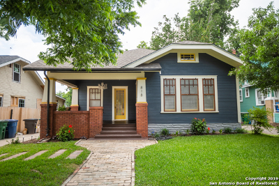 San Antonio Single Family Home New: 818 W Craig Pl