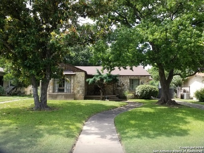 San Antonio Single Family Home New: 327 Thomas Jefferson Dr
