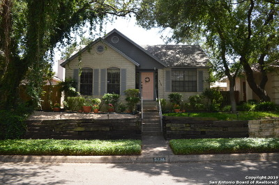 San Antonio Single Family Home New: 5734 Cedar Cove