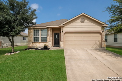 San Antonio Single Family Home New: 8811 Preserve Trail