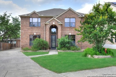San Antonio Single Family Home New: 21715 Seminole Oaks