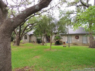 Boerne Single Family Home Active Option: 27027 Boerne Forest