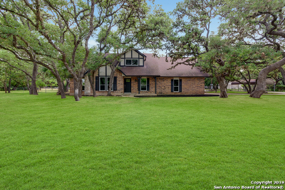 Boerne Single Family Home New: 9744 Windwood Dr