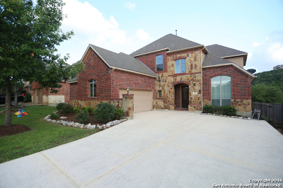San Antonio Single Family Home New: 7730 Winecup Hill