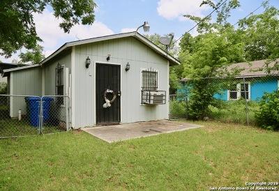 San Antonio Single Family Home For Sale: 1717 Montezuma St