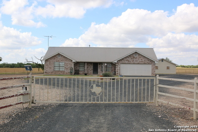 Hondo Single Family Home For Sale: 1100 County Road 544