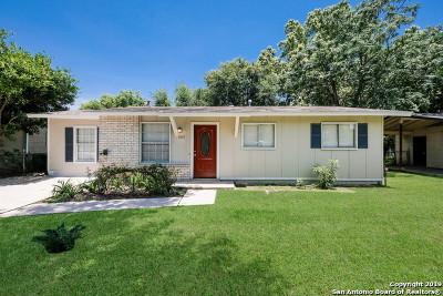 San Antonio Single Family Home New: 7055 Greenberry Dr