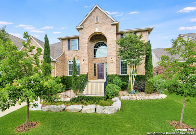San Antonio Single Family Home New: 18718 Crosstimber