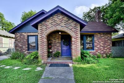 San Antonio Single Family Home New: 1414 Steves Ave