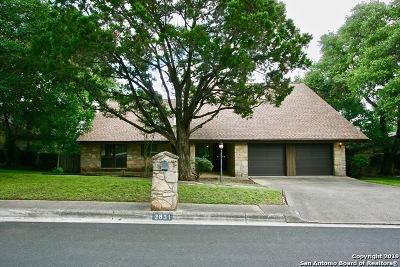 San Antonio Single Family Home New: 2831 Low Oak St