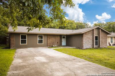 San Antonio TX Single Family Home Price Change: $154,900