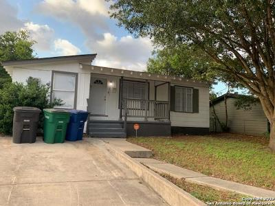 San Antonio TX Single Family Home New: $109,900
