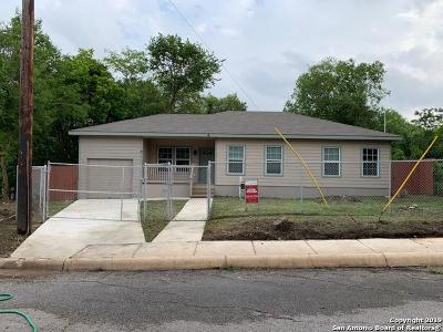 San Antonio TX Single Family Home New: $159,000