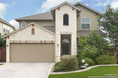 San Antonio Single Family Home New: 12403 Lincoln Creek