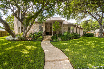 San Antonio Single Family Home New: 13509 Vista Del Cedro