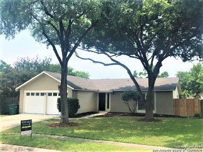 San Antonio Single Family Home New: 12711 Popes Creek St