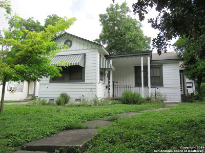 San Antonio Single Family Home New: 615 W Huisache Ave.