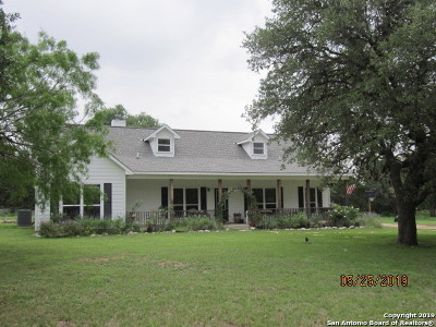 Kerrville Single Family Home For Sale: 1142 Lower Turtle Creek Rd