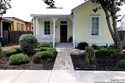 San Antonio Single Family Home New: 324 Leigh St