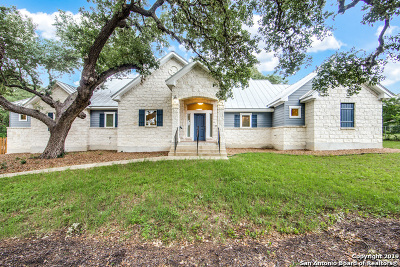 Boerne Single Family Home New: 9922 Saxet Dr