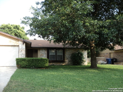 San Antonio Single Family Home New: 8322 Babe Ruth St