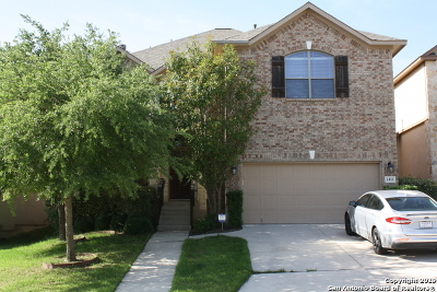 San Antonio Single Family Home New: 1411 Osprey Heights