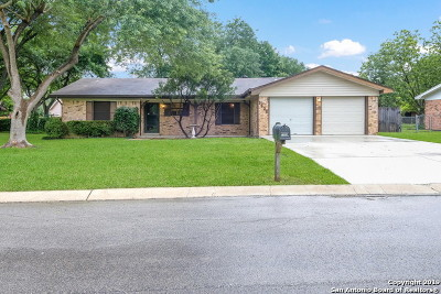 New Braunfels Single Family Home Back on Market: 1505 Marigold Dr