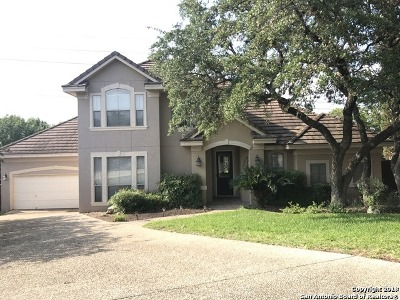 San Antonio Single Family Home New: 18922 Calle Cierra