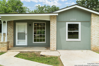 San Antonio Single Family Home New: 6707 Pear Tree