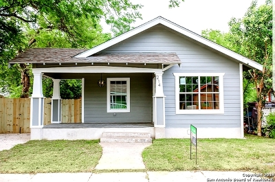 San Antonio TX Single Family Home New: $199,000